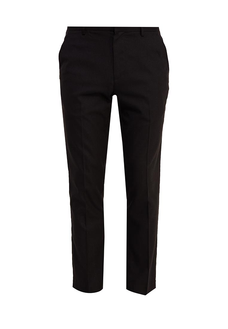 Мужские классические брюки Burton Menswear London 23S03LBLK