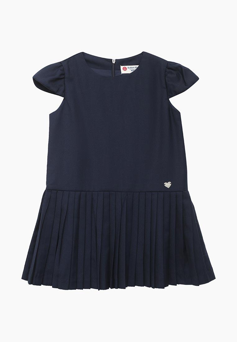 Повседневное платье Button Blue 218BBGS25021000