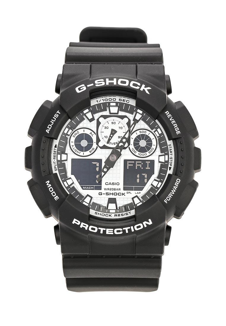 Часы Casio GA-100BW-1A