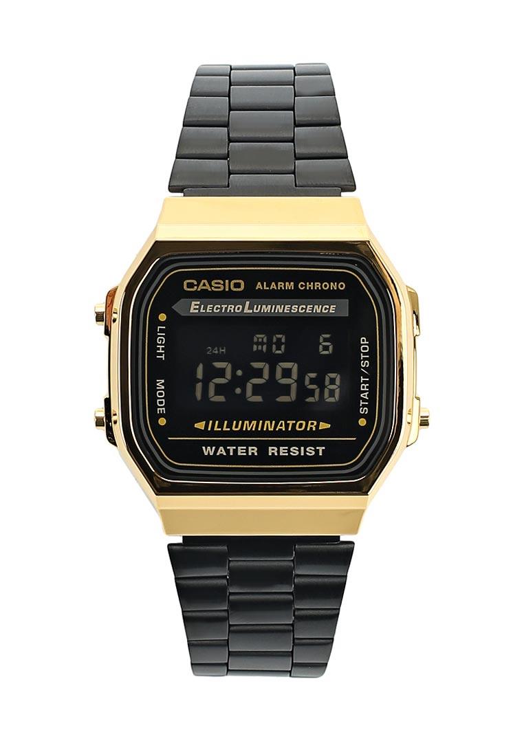 Мужские часы Casio A-168WEGB-1B