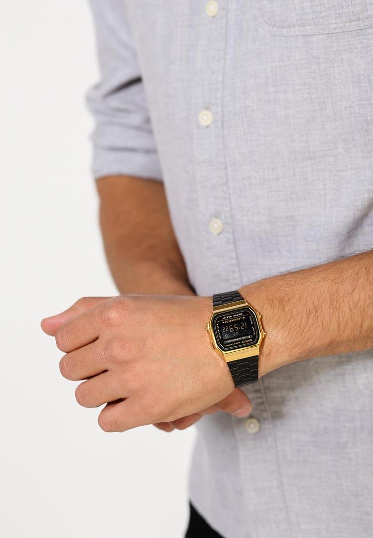 Мужские часы Casio A-168WEGB-1B: изображение 15