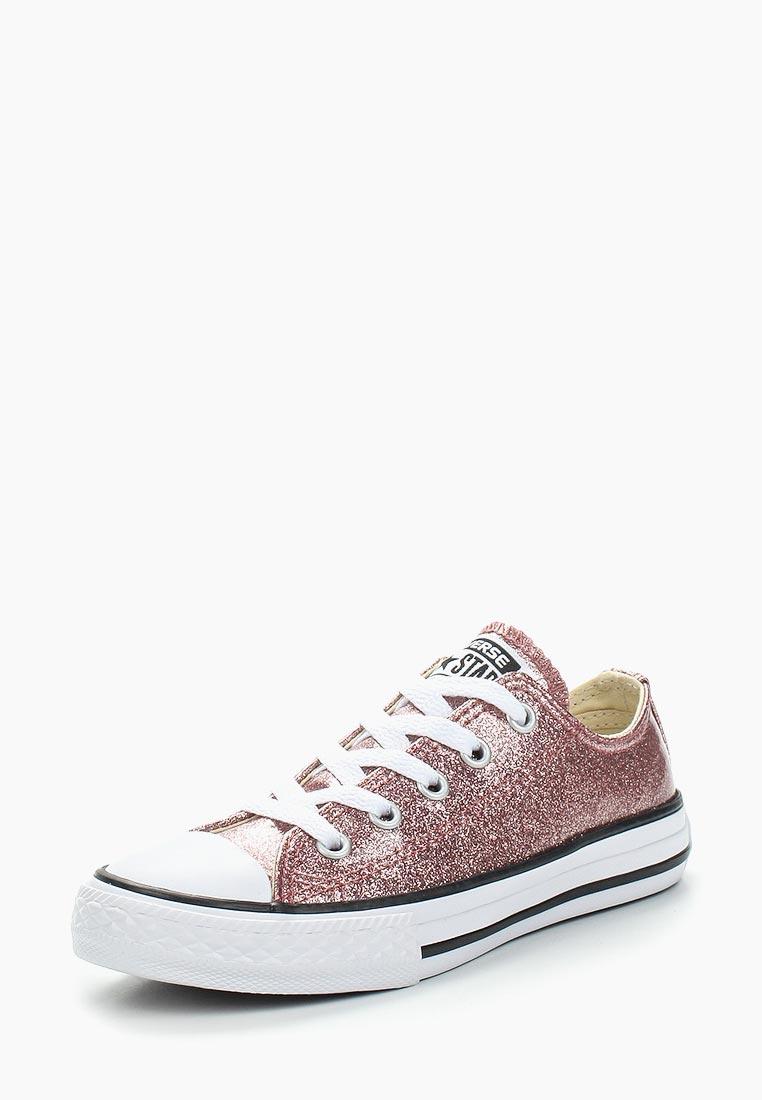 Кеды для девочек Converse (Конверс) 660045