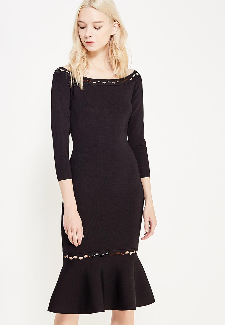 Вечернее / коктейльное платье Conso Wear KWDL170914 - black