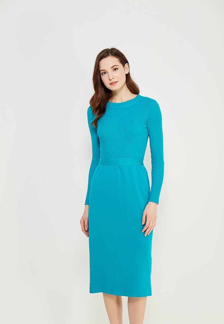 Вязаное платье Conso Wear KWDL170762 - turquoise