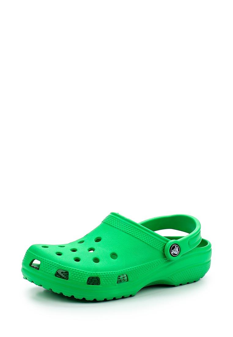 Женская резиновая обувь Crocs (Крокс) 10001-3E8