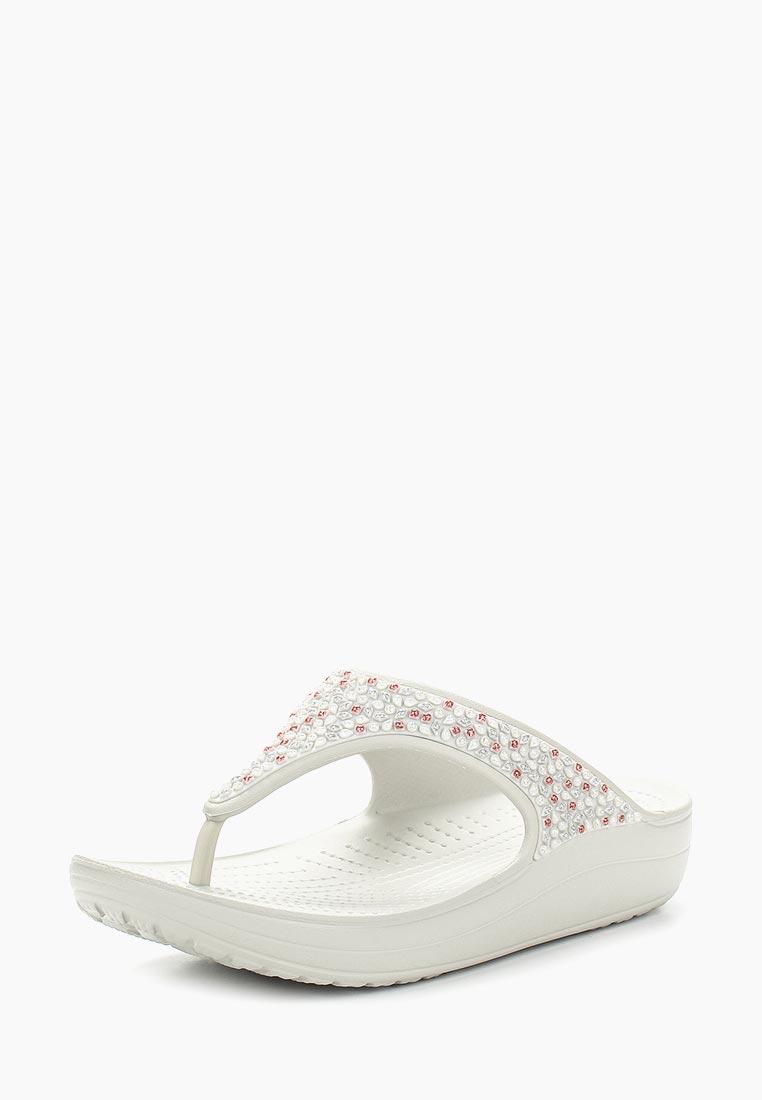 Женская резиновая обувь Crocs (Крокс) 204181-101