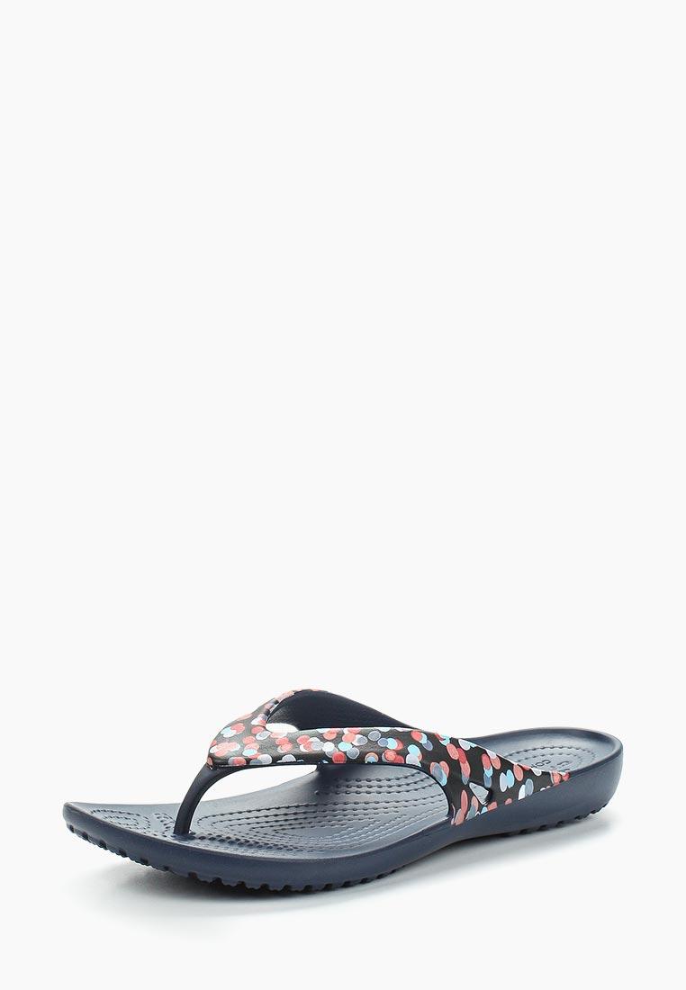 Женские сланцы Crocs (Крокс) 204231-93D