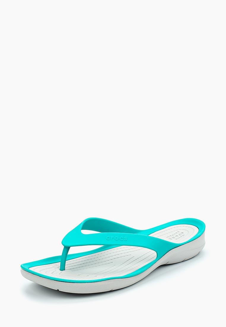 Женские сланцы Crocs (Крокс) 204974-31I