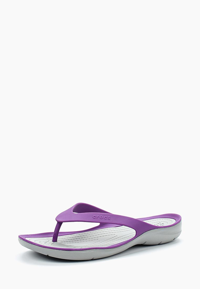 Женские сланцы Crocs (Крокс) 204974-5F8