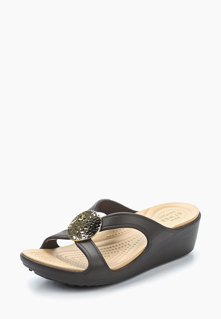 Женские сланцы Crocs (Крокс) 205047-23Q