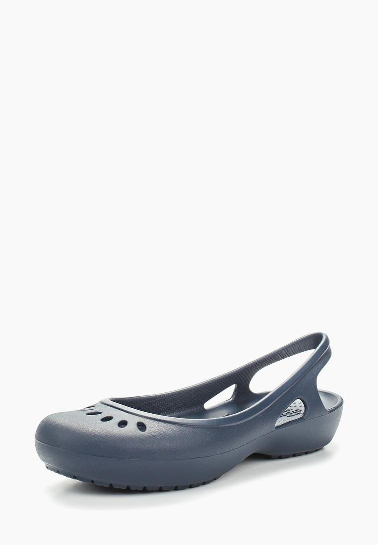 Женская резиновая обувь Crocs (Крокс) 205077-410