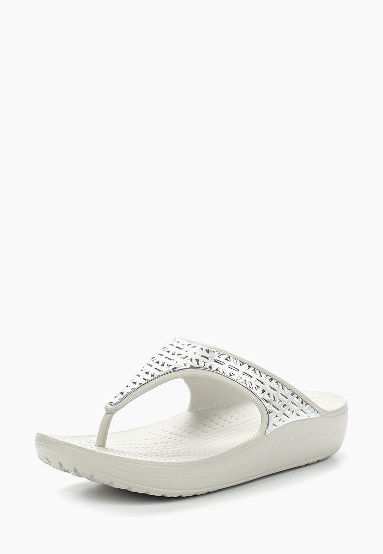 Женская резиновая обувь Crocs (Крокс) 205129-178