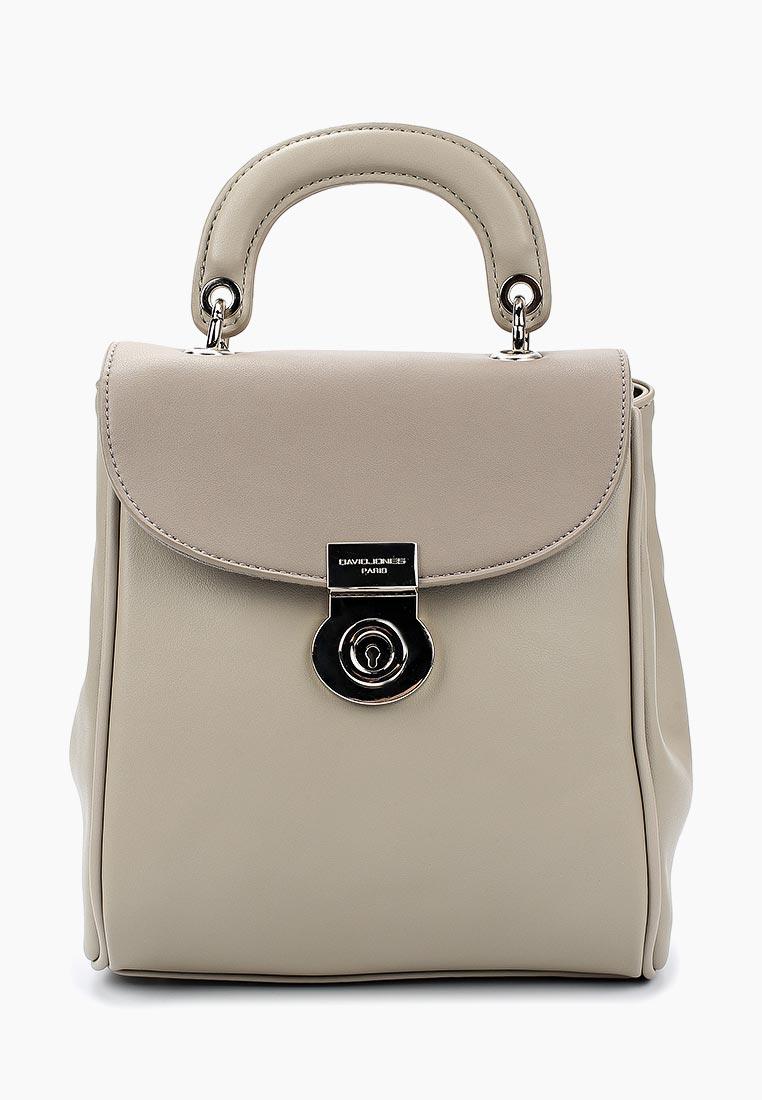 Городской рюкзак David Jones (Дэвид Джонс) 5710-2_серый