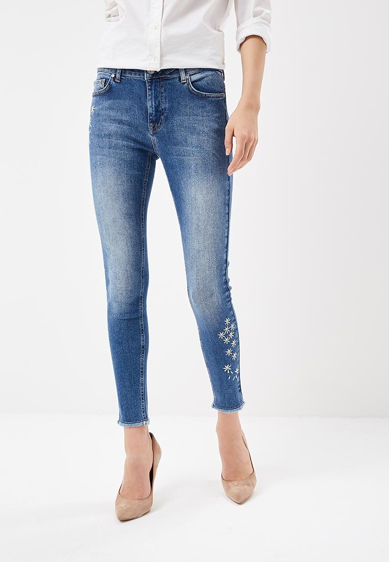 Зауженные джинсы Desigual (Дезигуаль) 18SWDD49