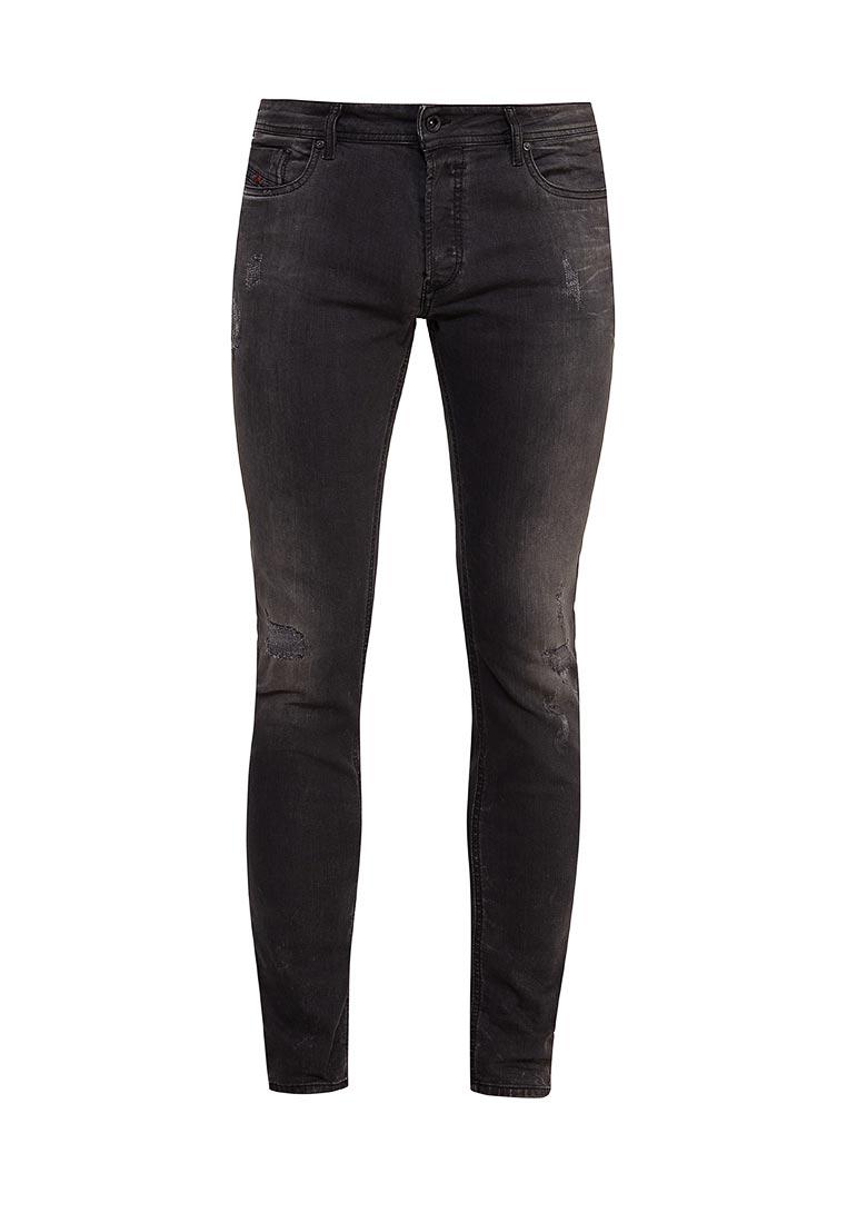 Зауженные джинсы Diesel (Дизель) 00S7VG.0676P: изображение 4