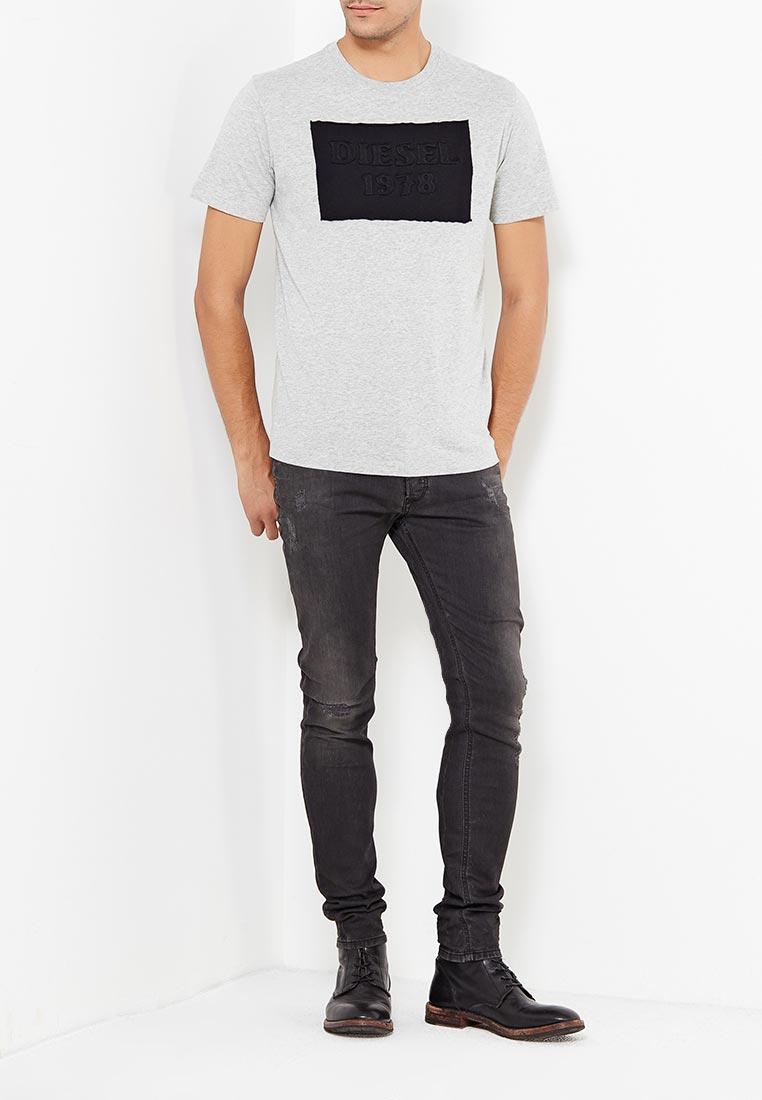 Зауженные джинсы Diesel (Дизель) 00S7VG.0676P: изображение 5