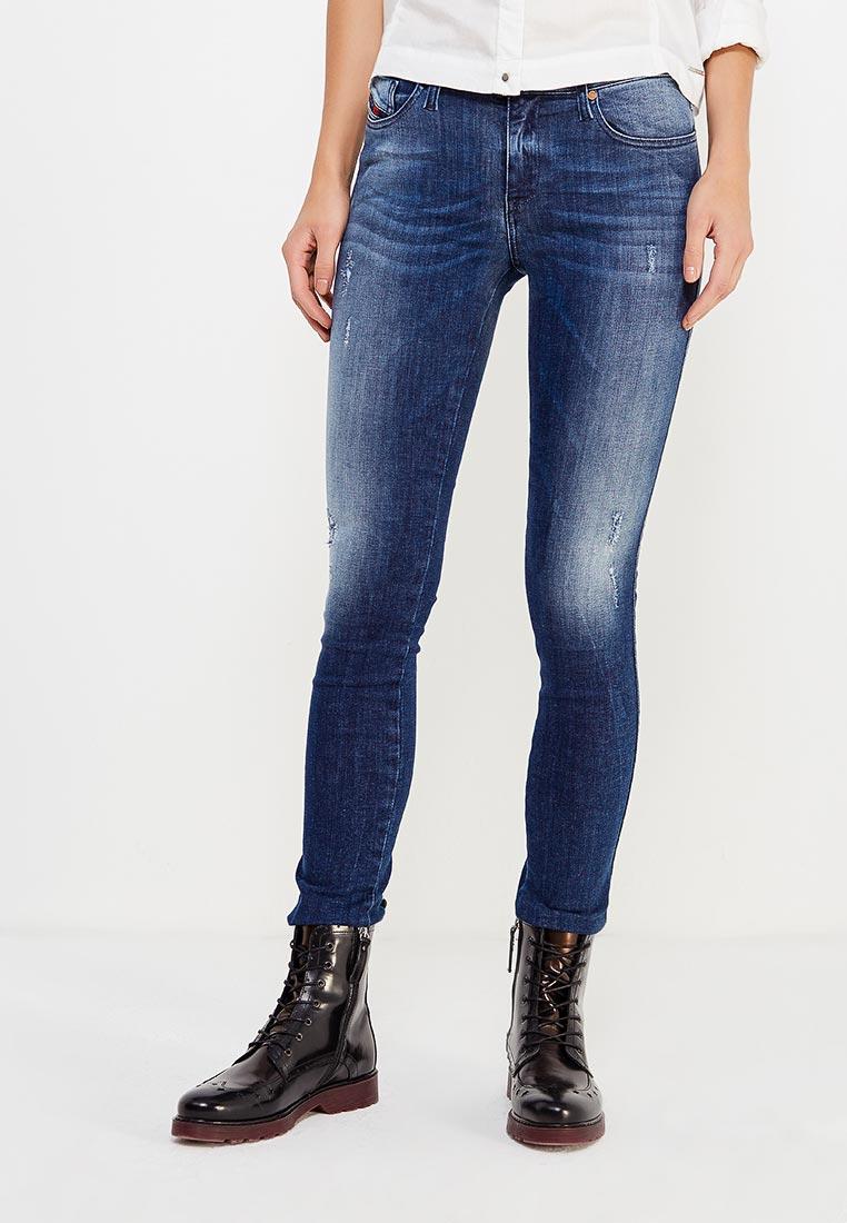 Зауженные джинсы Diesel (Дизель) 00S141.0677R
