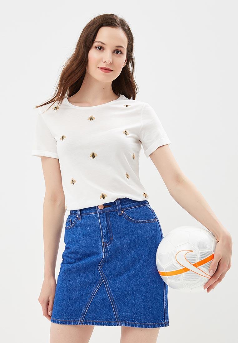 Футболка с коротким рукавом Dorothy Perkins (Дороти Перкинс) 56684122