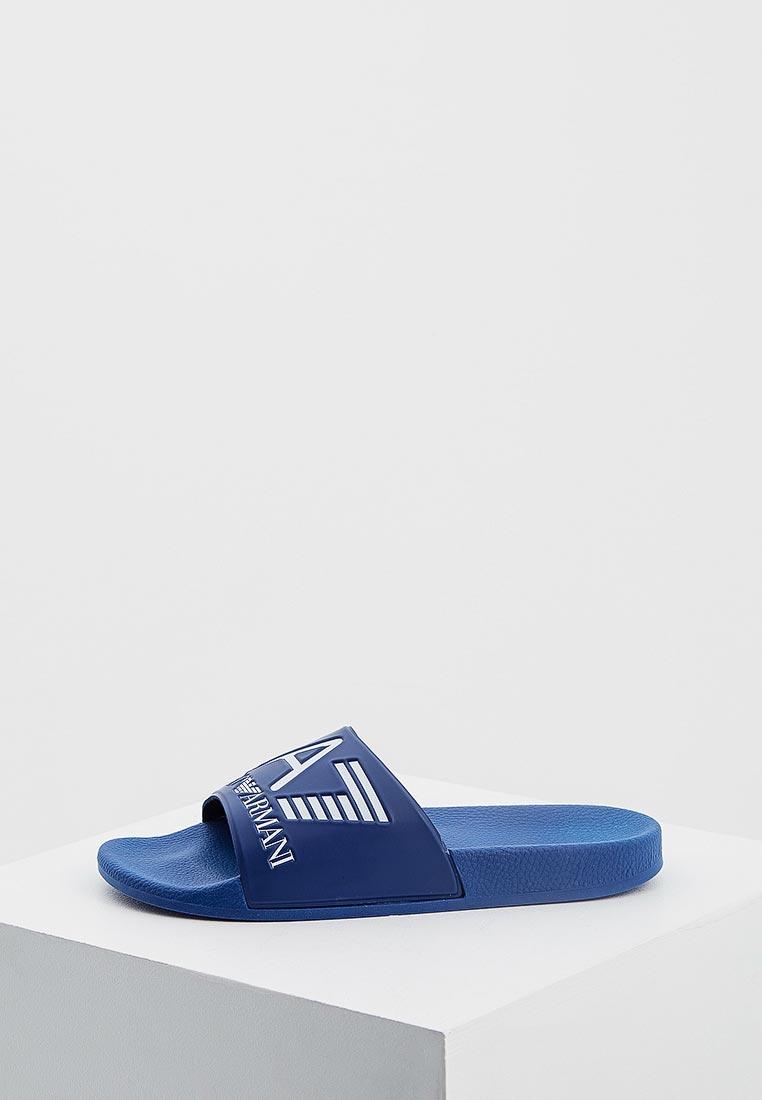 Мужская резиновая обувь EA7 905012 8P215
