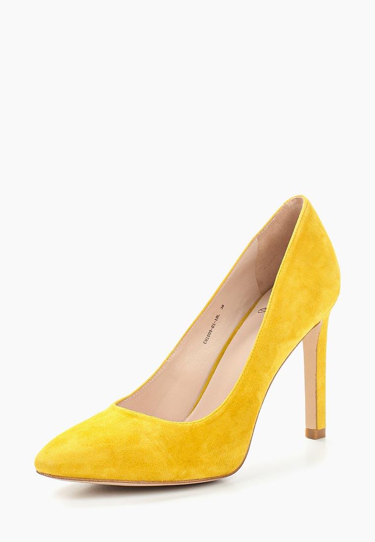 Женские туфли Ekonika EN1009-01 yellow-18L