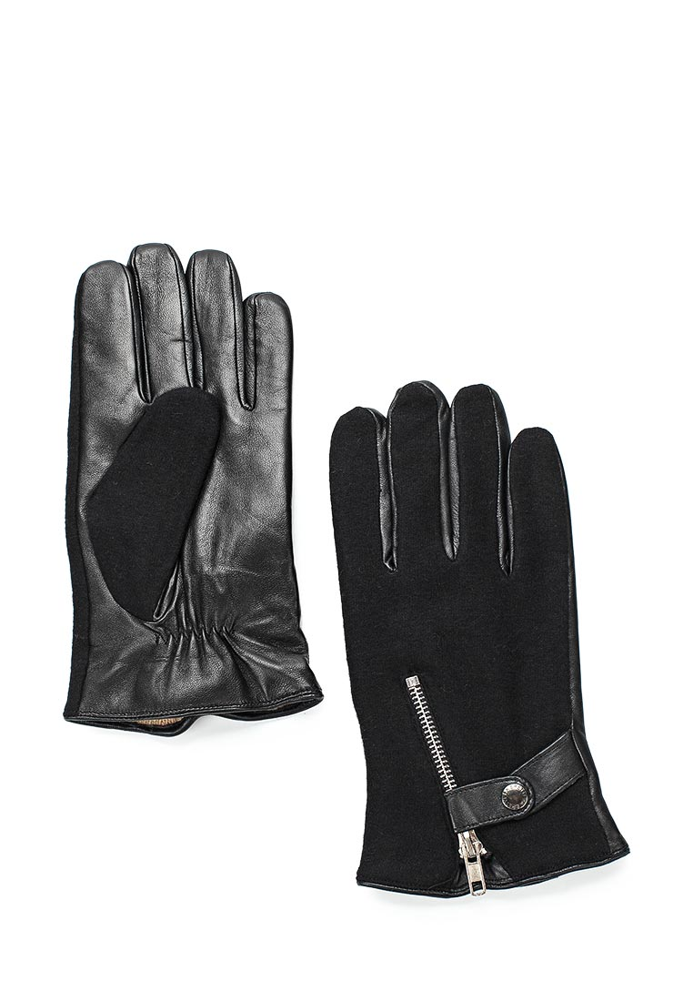 Мужские перчатки Fabretti (Фабретти) 33.3-1 black
