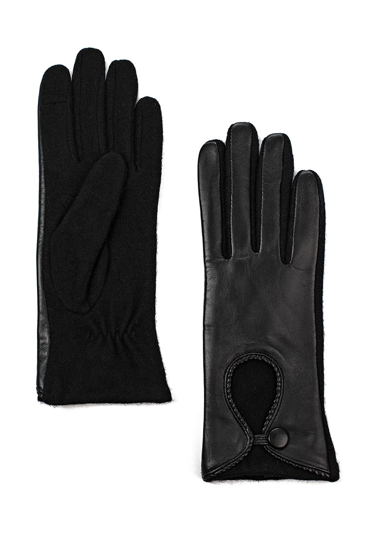 Женские перчатки Fabretti (Фабретти) 3.3-1 black