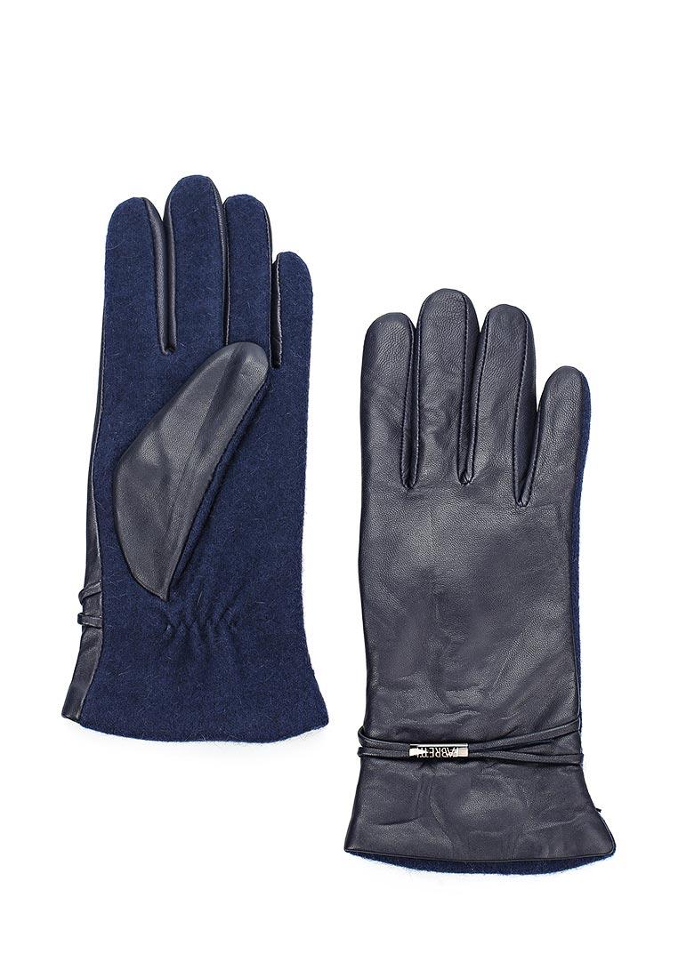 Женские перчатки Fabretti (Фабретти) 33.1-12 navy