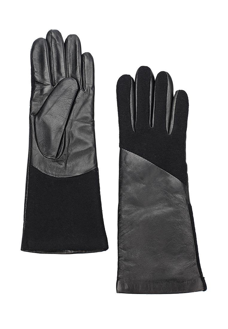 Женские перчатки Fabretti (Фабретти) 33.5-1 black