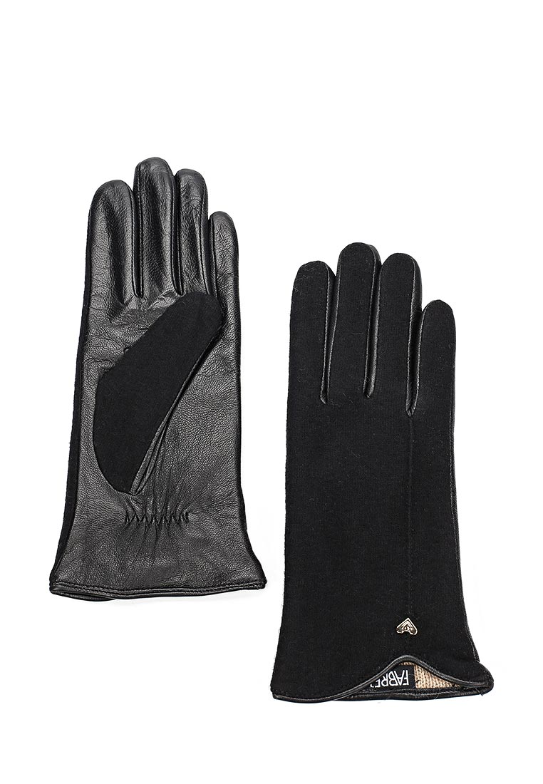 Женские перчатки Fabretti (Фабретти) 33.8-1 black