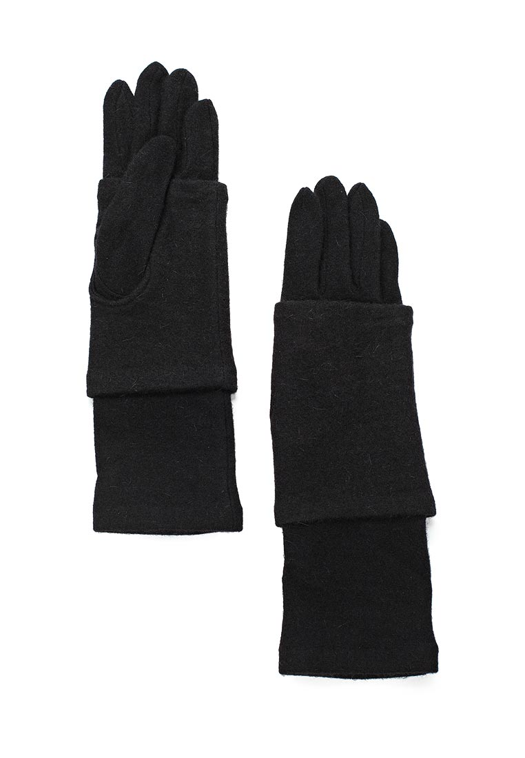 Женские перчатки Fabretti (Фабретти) D2017-2#-black