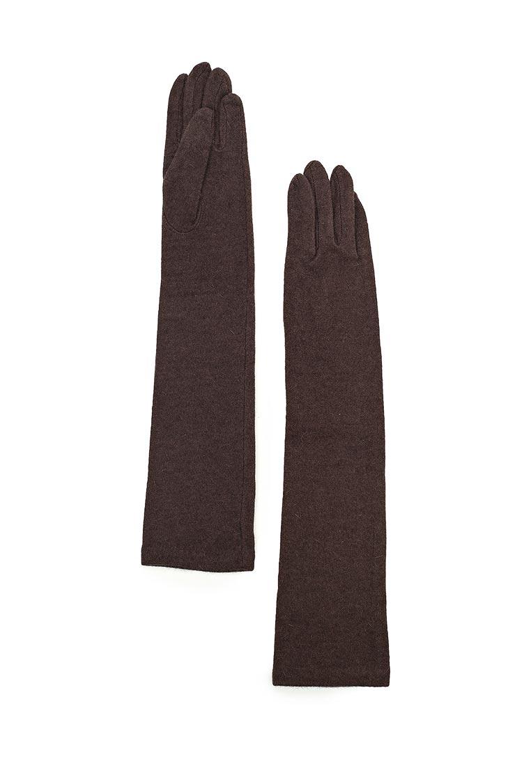 Женские перчатки Fabretti (Фабретти) D2017-4#-coffe