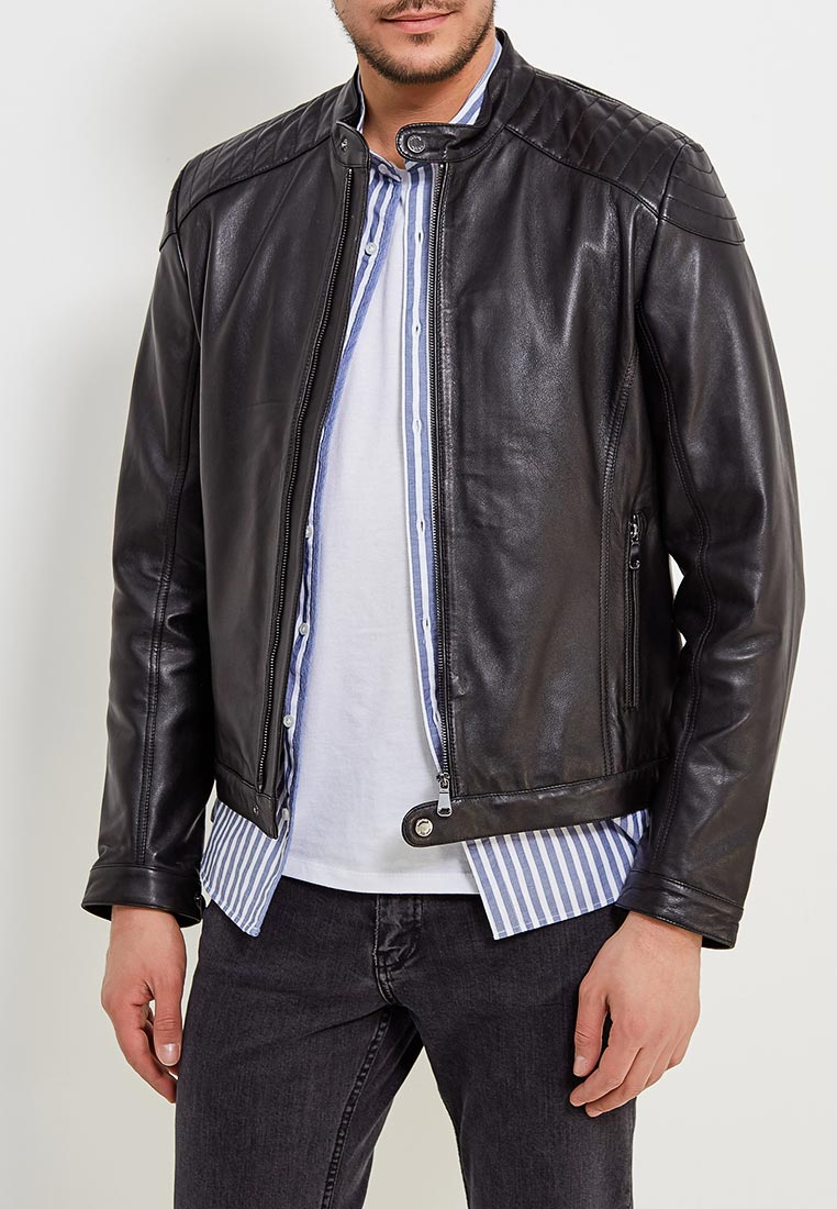 Кожаная куртка Geox M8222BT2494F9000
