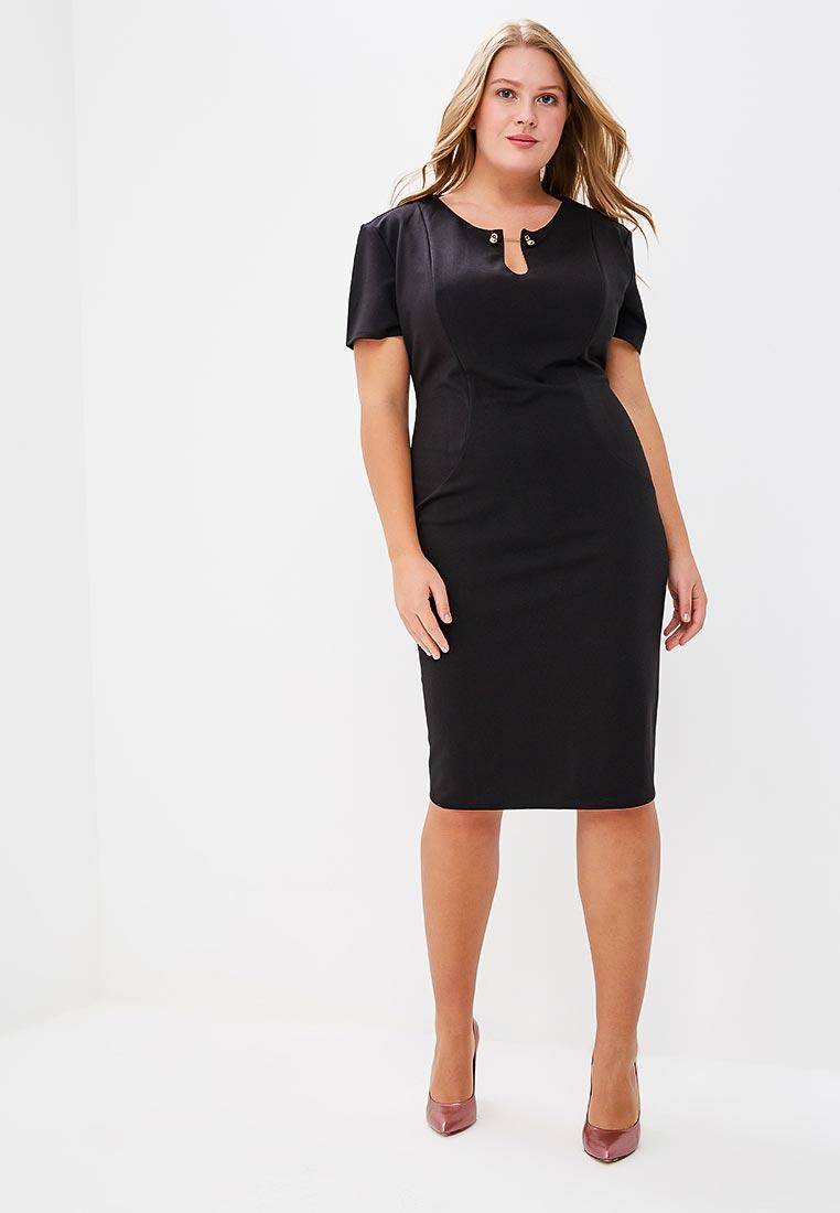 Платье-миди Goddiva Size Plus DR1344P