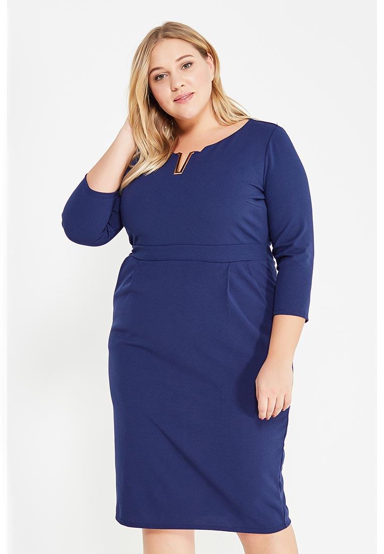 Деловое платье Goddiva Size Plus DR1303P