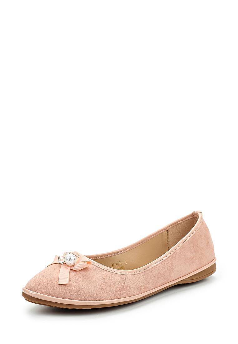 Женские балетки Ideal Shoes M-8806
