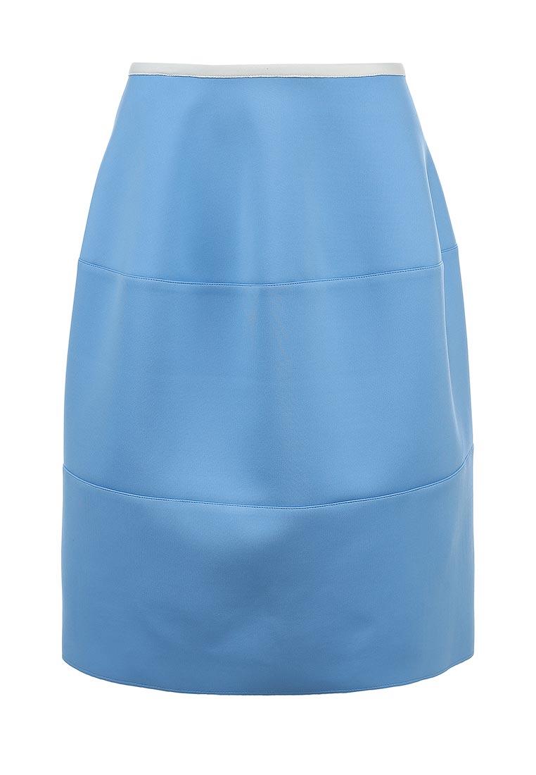 Широкая юбка Jil Sander Navy JDE122AJE091