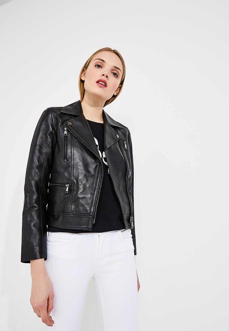 Кожаная куртка Karl Lagerfeld 81kw1900