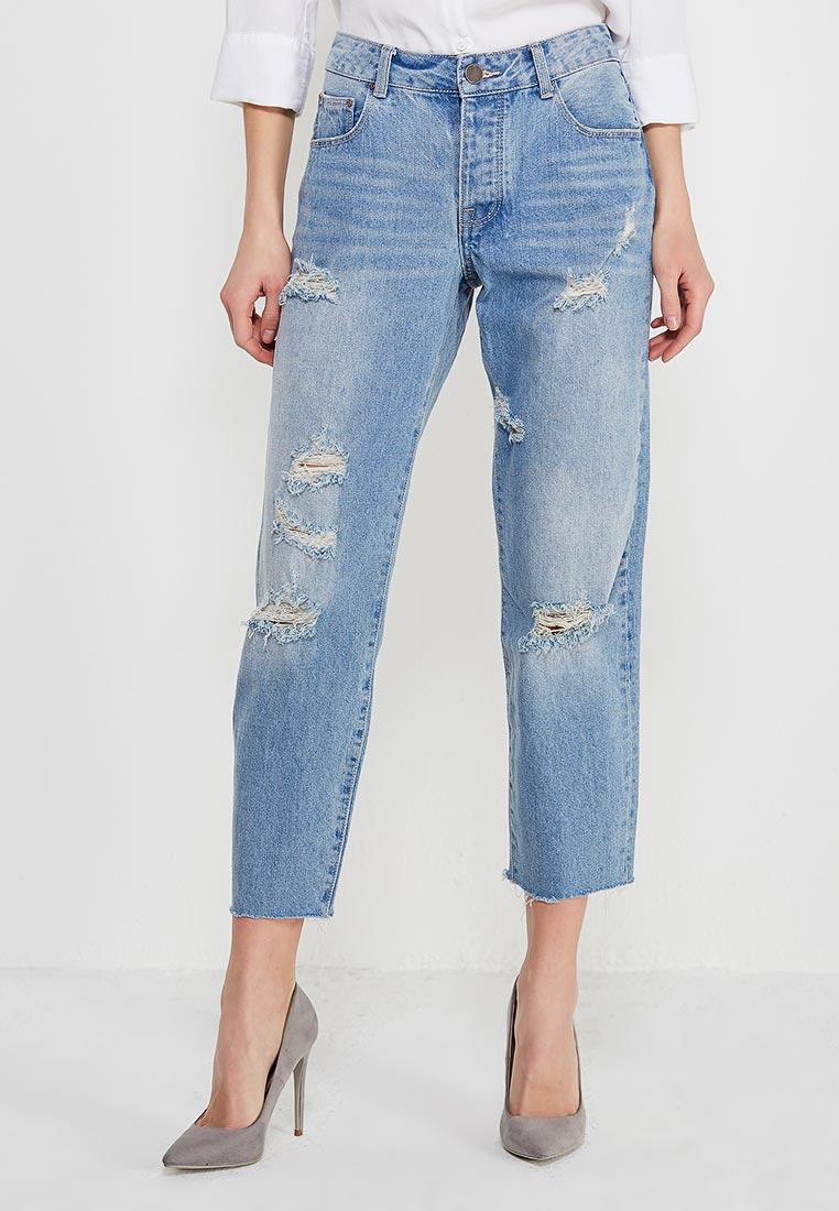 Прямые джинсы LOST INK. (ЛОСТ ИНК.) 1001114040100025