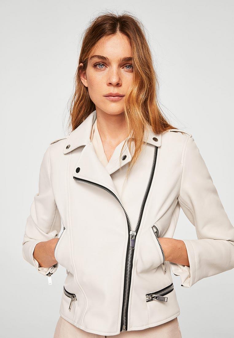 Кожаная куртка Mango (Манго) 33040594