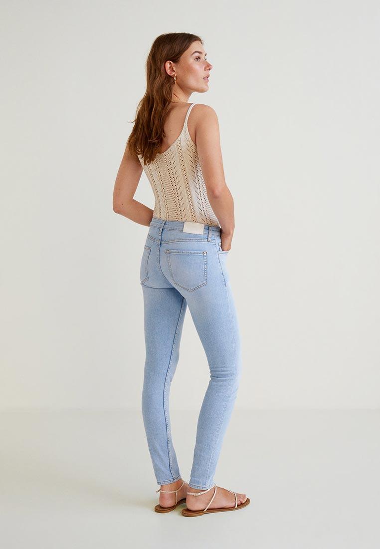 Зауженные джинсы Mango (Манго) 33000681: изображение 4