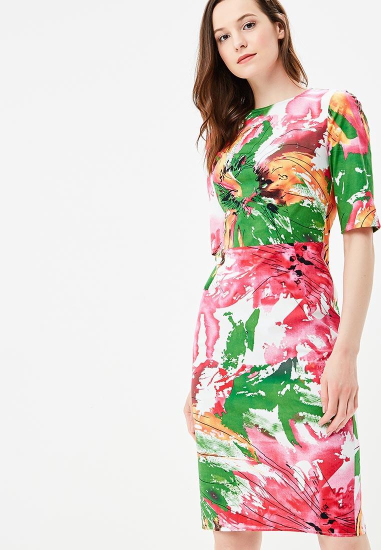"""Повседневное платье MadaM T (Мадам Т) ПЛ4055/0114 """"Тропикана"""""""