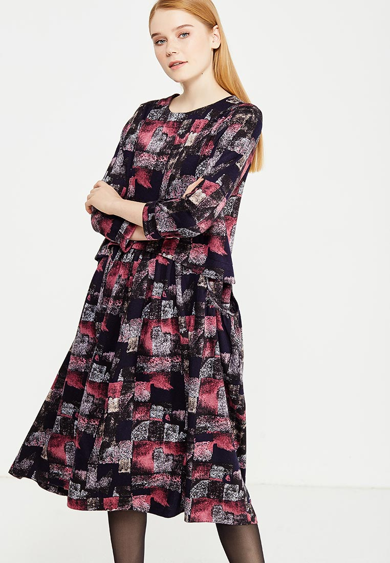 "Платье-миди MadaM T (Мадам Т) ПО3625/1214 ""Памела"""