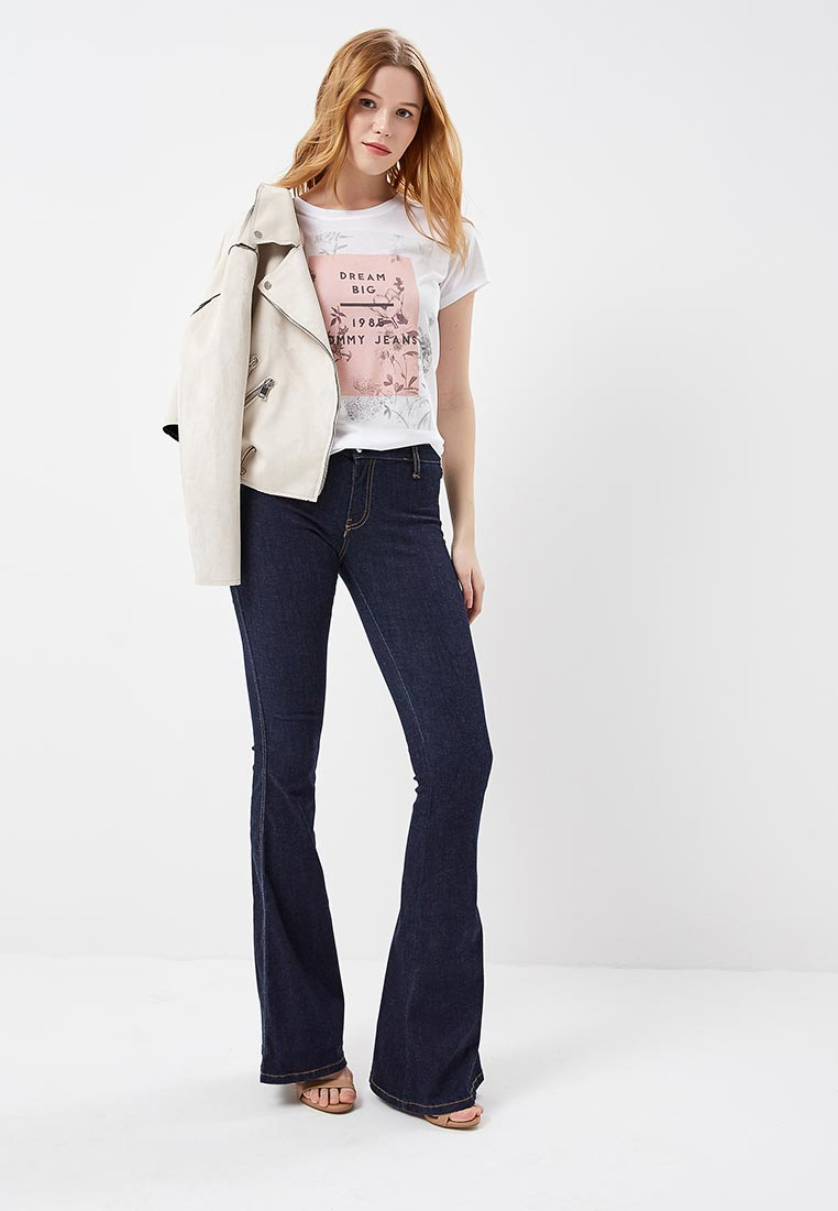 Широкие и расклешенные джинсы Met 10DBF1017: изображение 8