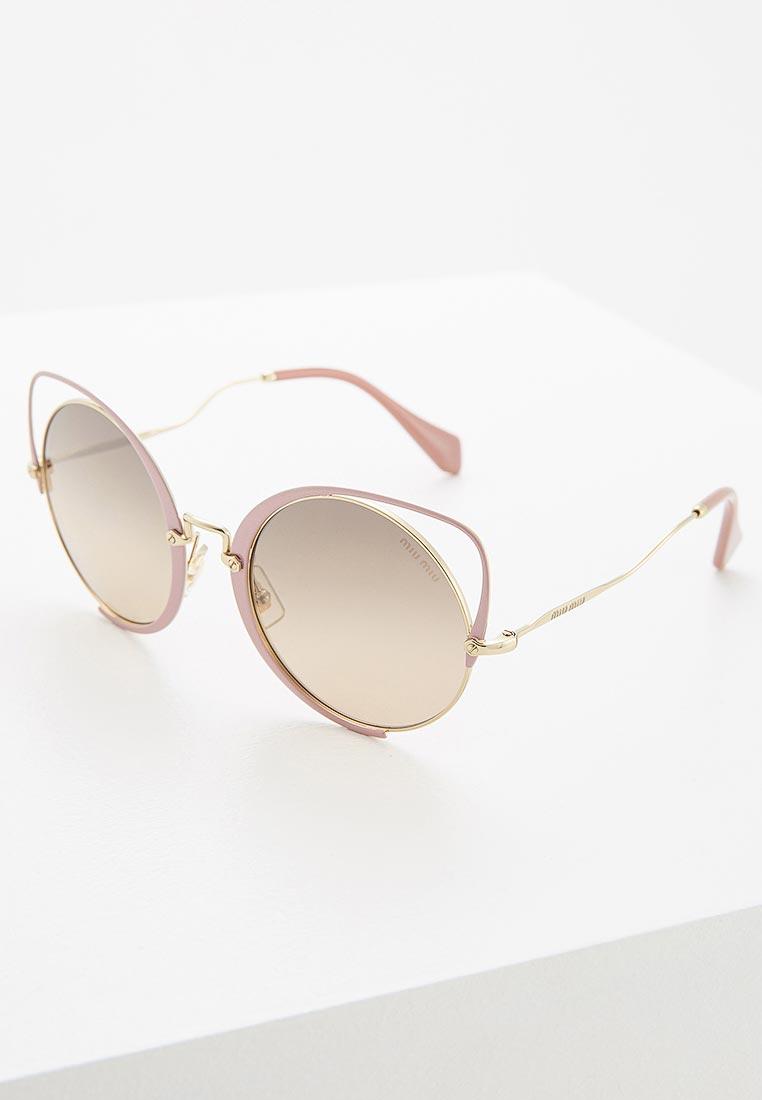 Женские солнцезащитные очки Miu Miu 0MU 51TS