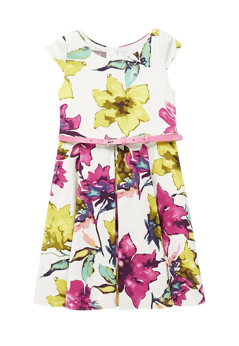 Повседневное платье Shened SH17220фиолетовый-116-122