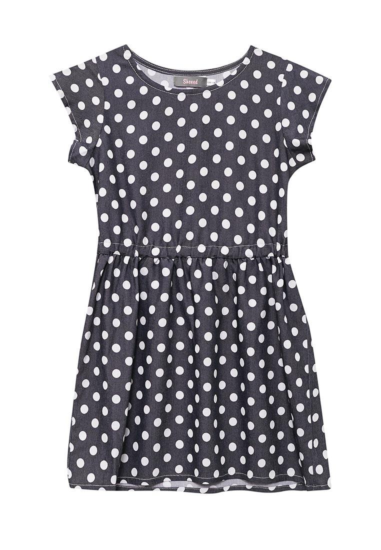Повседневное платье Shened SH17230горох-128-134