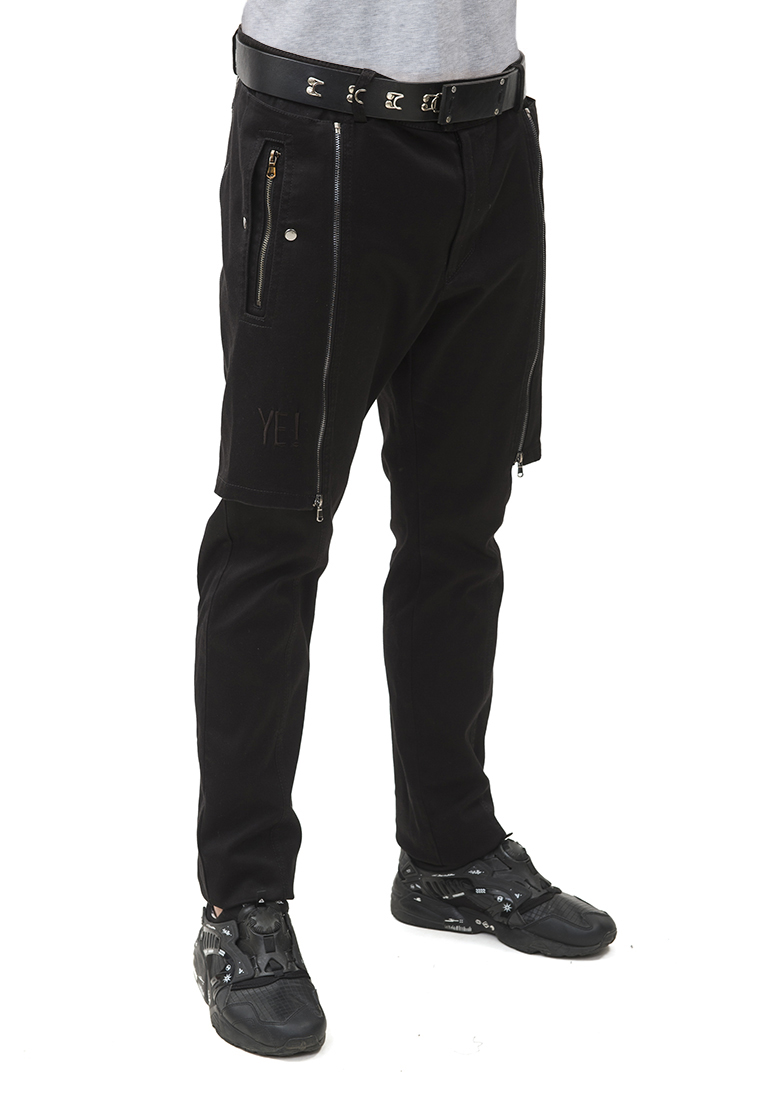 Мужские повседневные брюки Pavel Yerokin BSU-1-черный-44: изображение 10