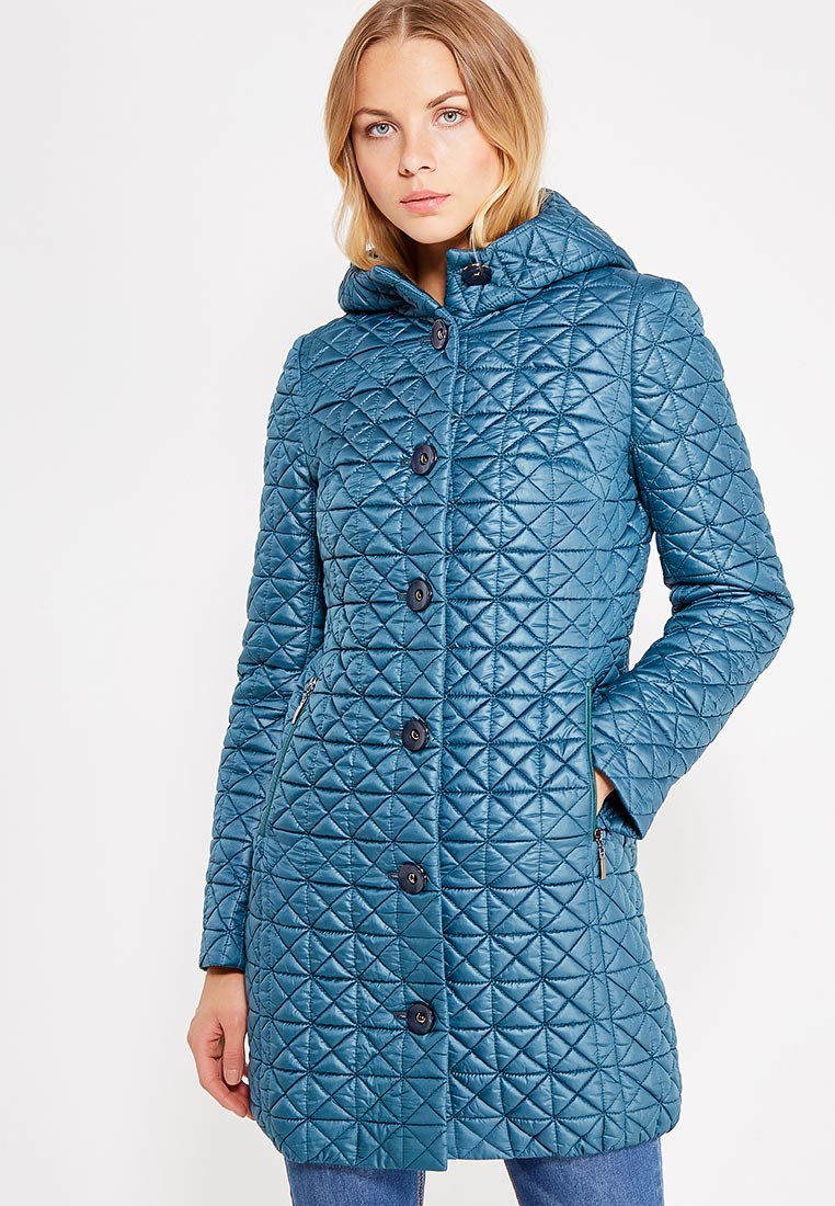 Утепленная куртка Brillare 3-683-60biruzovyj-44