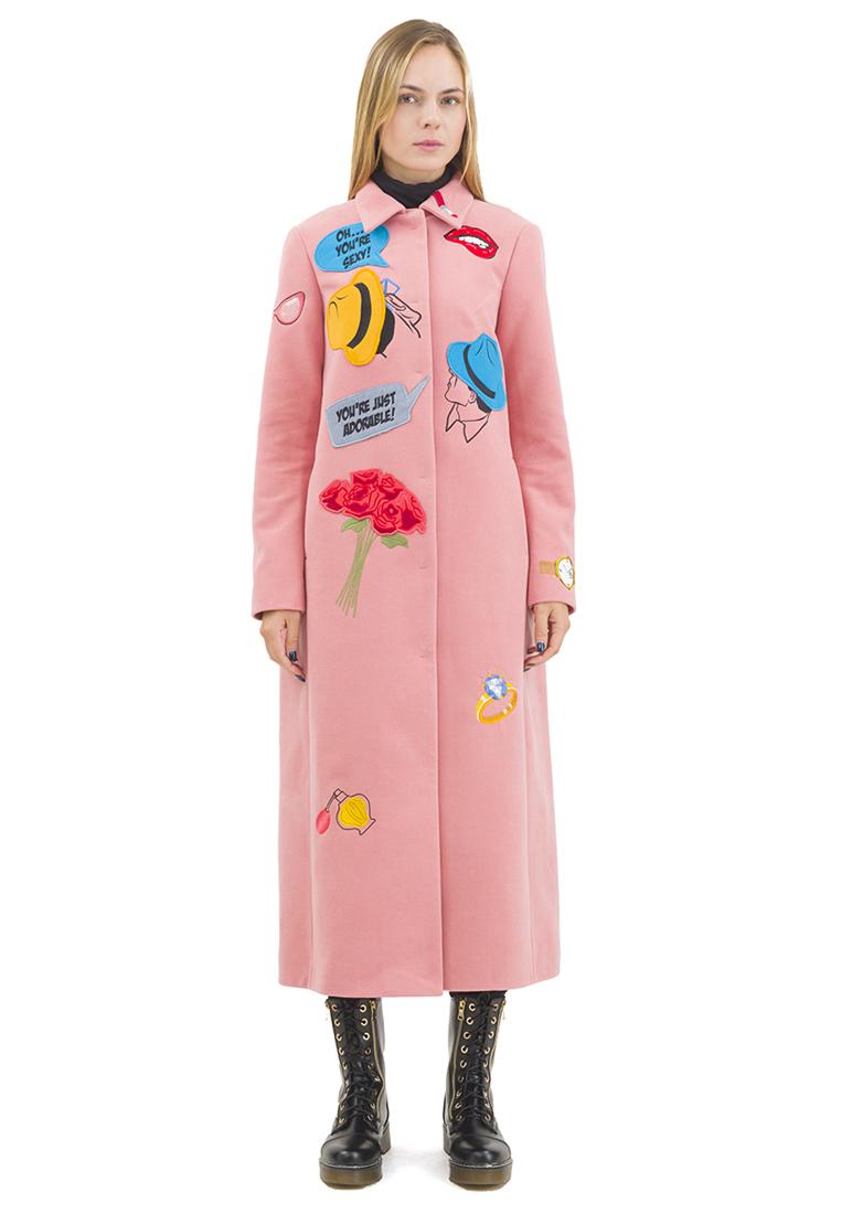 Женские пальто Pavel Yerokin SKS-80-розовый-40: изображение 9