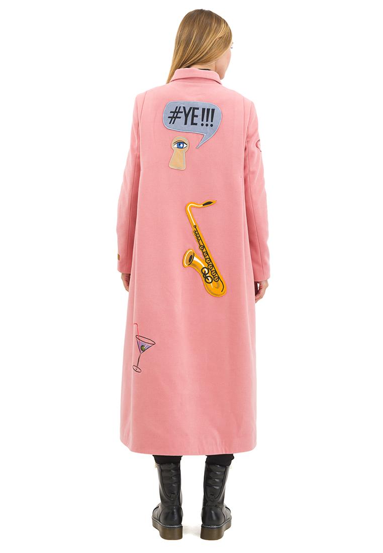 Женские пальто Pavel Yerokin SKS-80-розовый-40: изображение 11